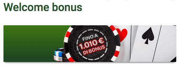 Sisal bonus poker
