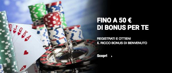 Sisal bonus casino