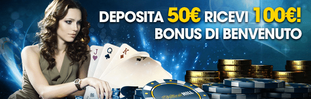 Bonus poker William Hill