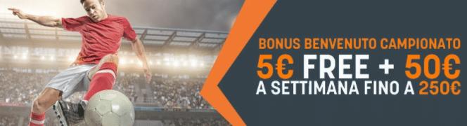 Snai bonus scommesse