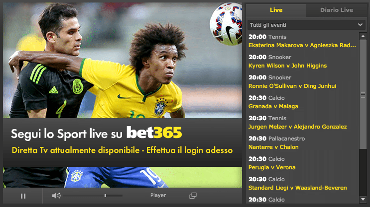 Bet365 live