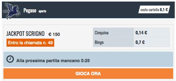Snai bingo